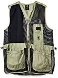 Browning, Trapper Creek Vest, X-Large, Sage/Black