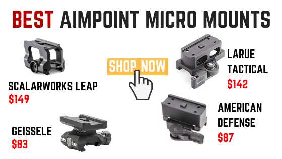 BEST AIMPOINT MICRO MOUNTS UNDER $150