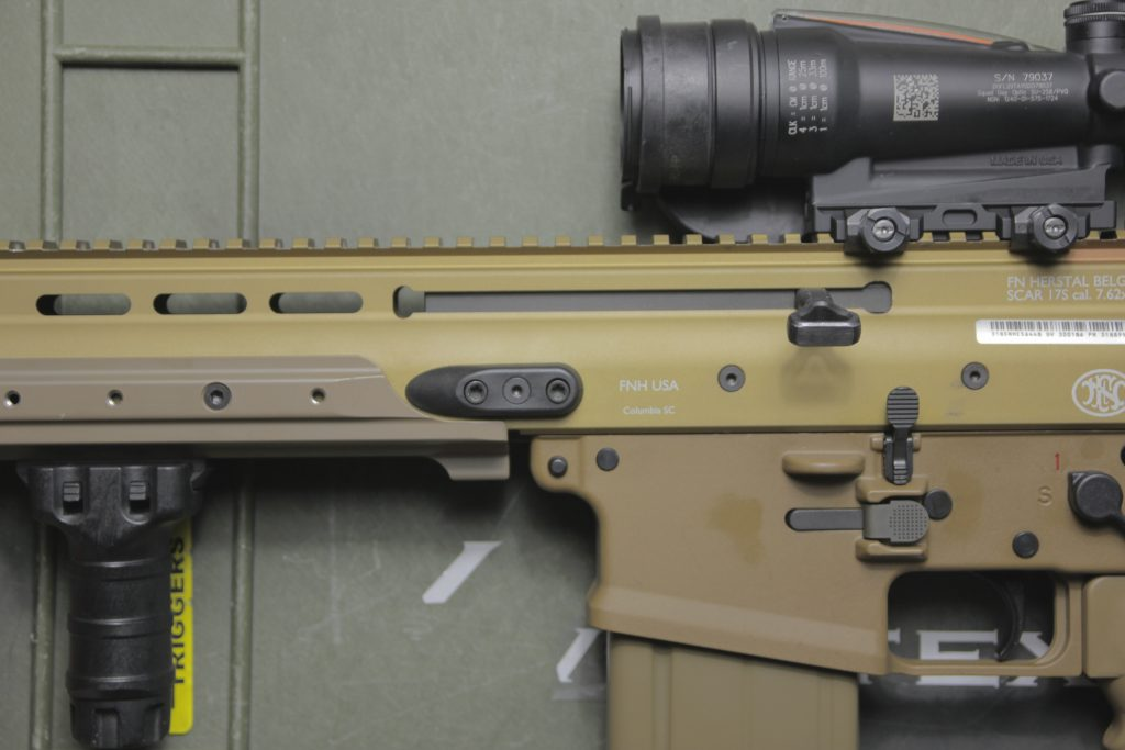 FN SCAR 17 With Geissele ACOG Mount