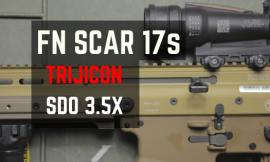 Best SCAR 17 ACOG Scope – 3.5X Is Perfect For Medium Range