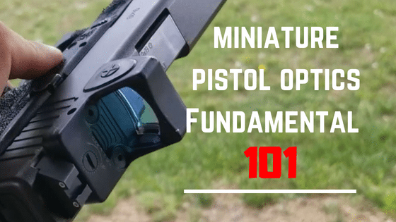 How To Use Pistol Red Dot Sight | Fundamental 101
