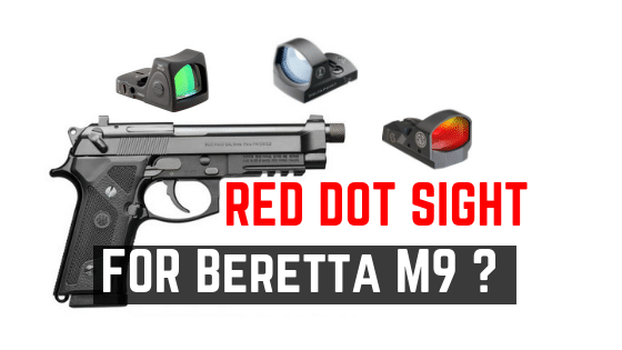Can Beretta 92 Series Handgun Accept Any Red Dot Sight
