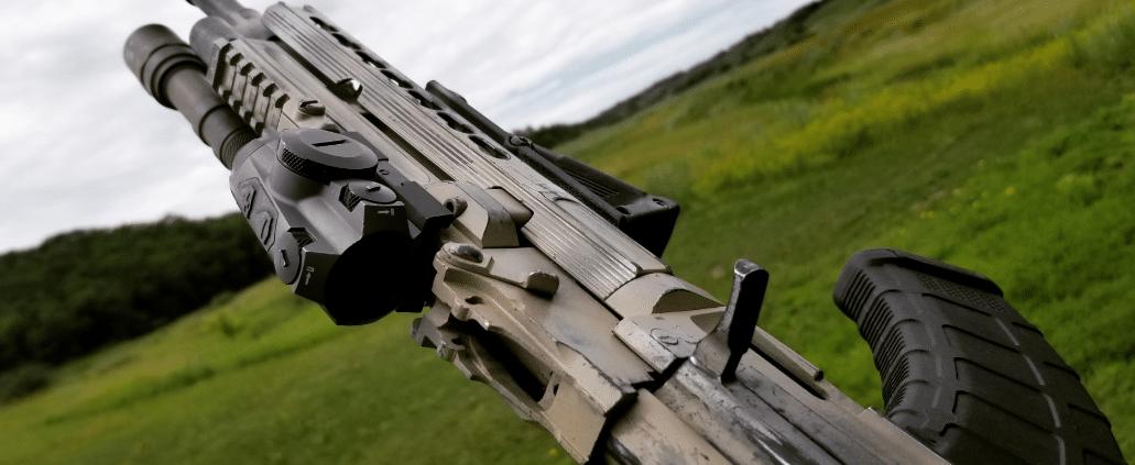 arsenal ak with sig romeo4 red dot sight