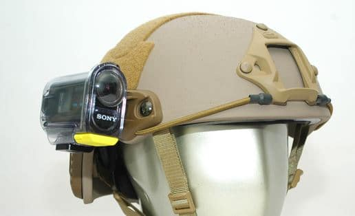 FAST Helmet With Sony Camera