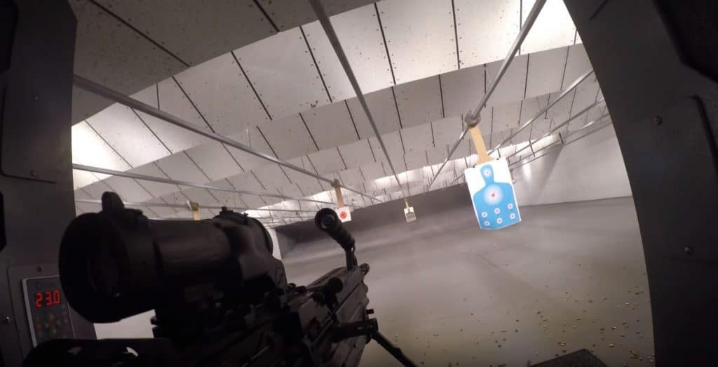 M249 with GoPro Hero 4