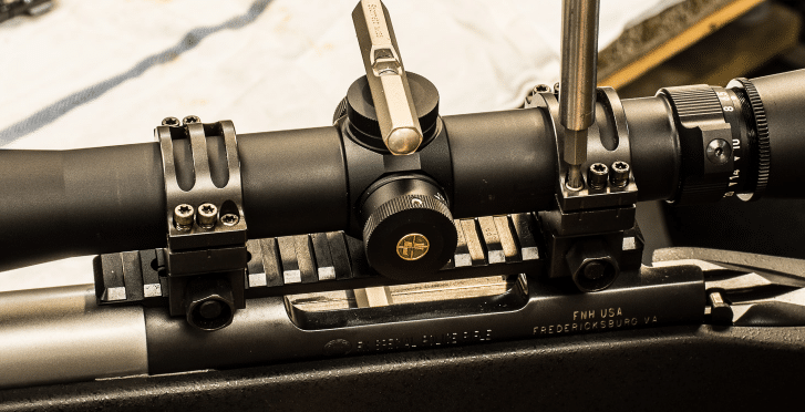 Mounting Scope with Torque Wrench