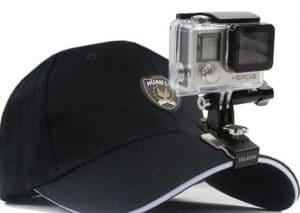 hat go pro clamp