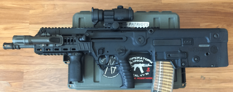 X95 with aimpoint pro