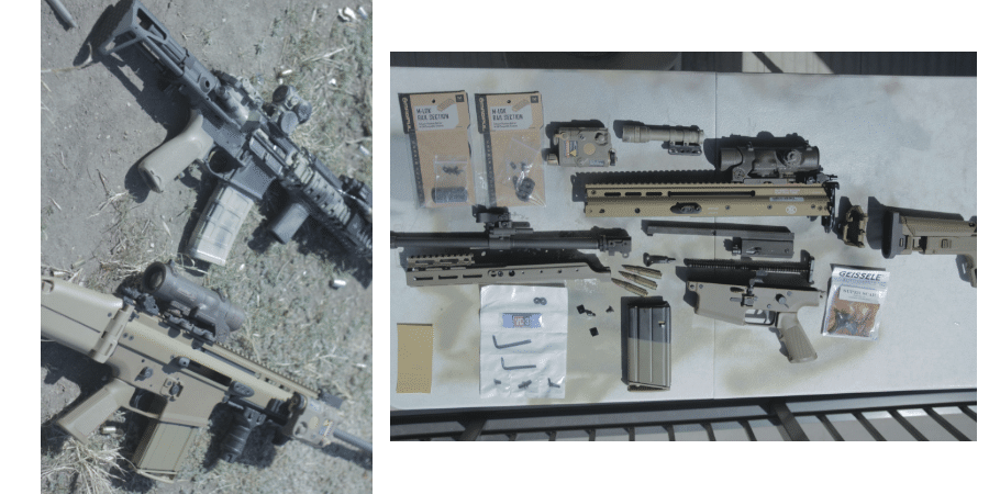 AR15 vs SCAR17 upgrades