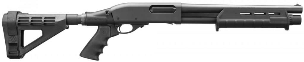 Remington 870 with pistol brace