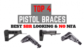 4 Best Pistol Braces 2019 – For AR-15 & AK Pistols, No NFA Required