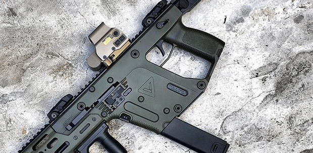 Eotech exps3 on kriss vector