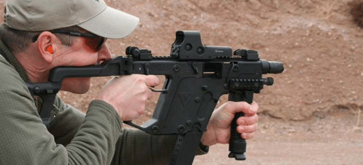 Kriss Vector 45ACP with Eotech