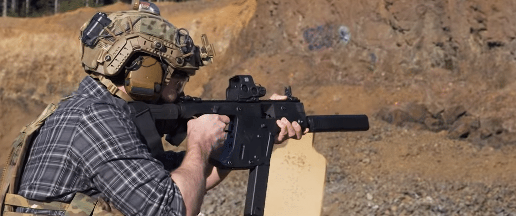 Kriss vector with eotech