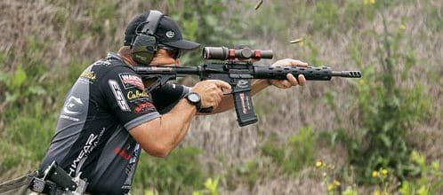 3 Gun With LPV Scope