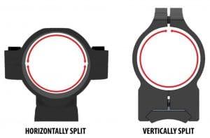Vertical Split and Horizontal Split