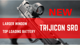 Trijicon SRO Reflex Sight Review –  Enlarged Window