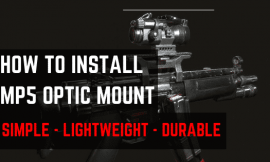 3 Best MP5 Optic Mounts – Works With HK Clones