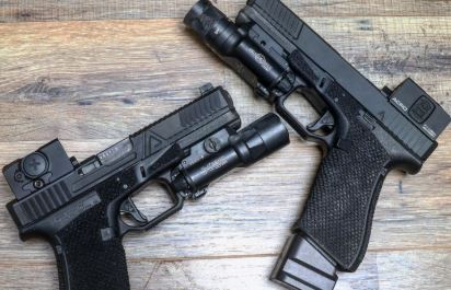 Agency Glocks With Aimpoint ACRO