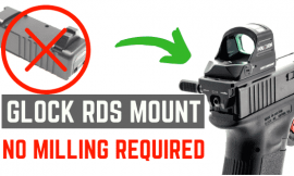 How To Mount Red Dot On GLOCK Pistols Without Milling The Slide