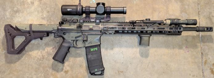 AR15 with Viper PST