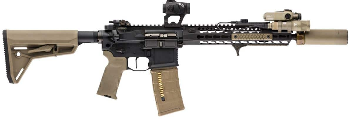 AR15 with scalarworks aimpoint LEAP mount