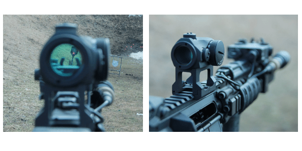 Scalarworks Aimpoint Micro Red Dot Sight Mount POV