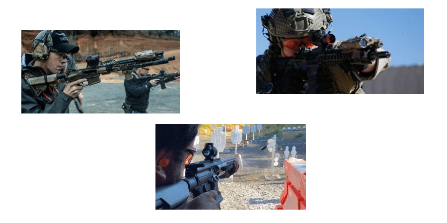 Combat Red Dot Sight Users