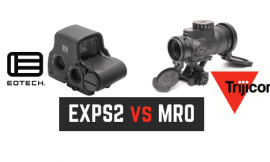 EOTech vs Trijicon MRO Comparison Review  (Holosight VS Red Dot)