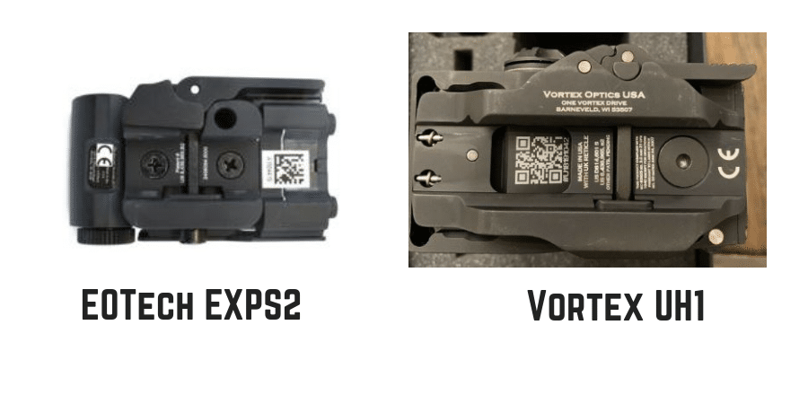 Eotech exps2 vs vortex uh1 huey qd mount