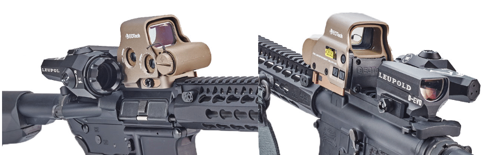 Eotech paired with Leupold D EVO