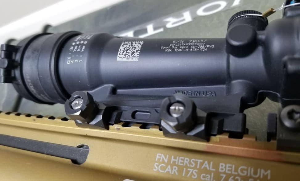 Geissele super precision ACOG scope mount
