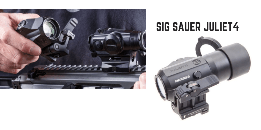 Magnified JULIET4 optics for Sig MPX