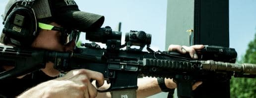 Trex Arm uses Aimpoint T2 with g33
