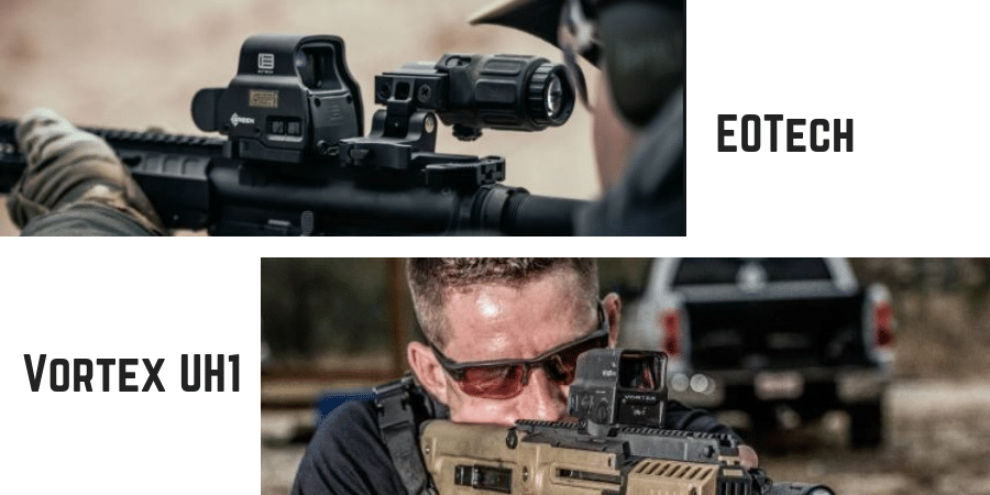 vortex uh1 vs eotech exps2 holographic sights