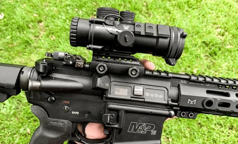 AR15 with Vortex Spitfire 3X scope