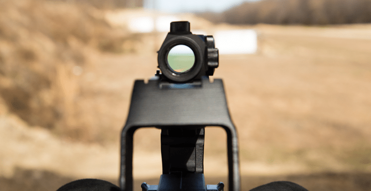 Low Profile Design Machine P90 red dot sight mount