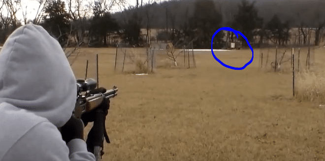 Shooting a scoped Marlin 336