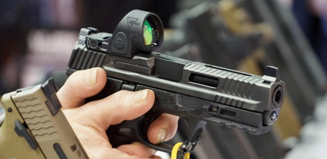 Smith Wesson M&P with Trijicon SRO