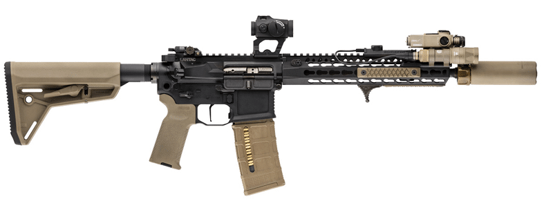 AR15 with scalarworks leap optic mount