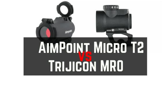 Aimpoint T2 VS Trijicon MRO – Battery, Sizes, Durability & Prices Compare