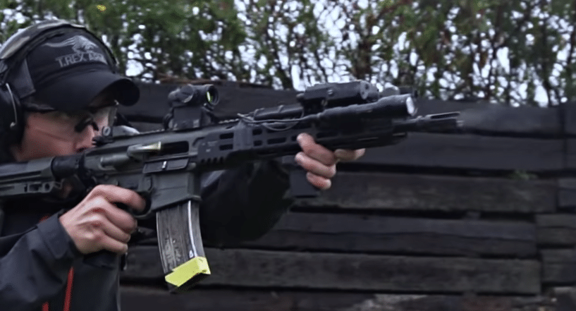 Aimpoint on Sig Sauer MCX