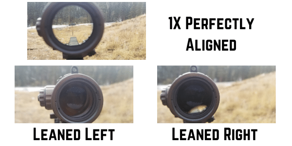 ELCAN dual role weapon sight scope shadow