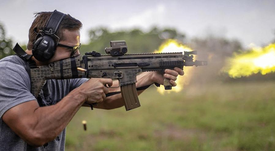 FN SCAR 16 with Leupold LCO