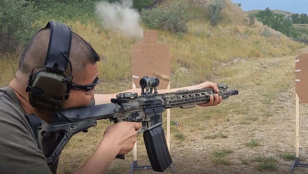 Shooting AR15
