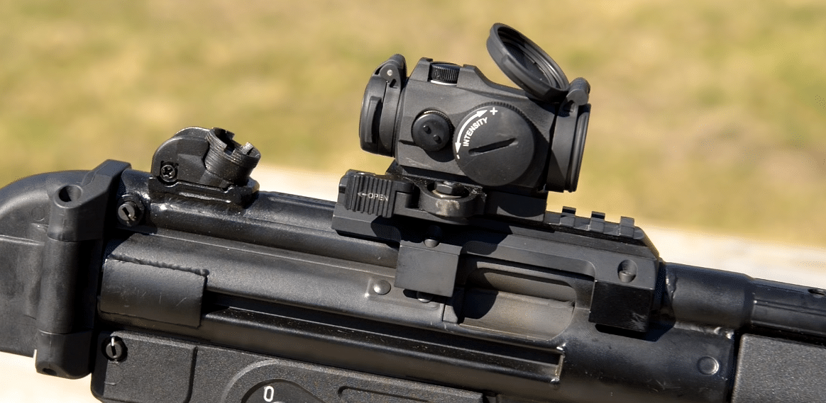 AImpoint Micro T2 on MP5