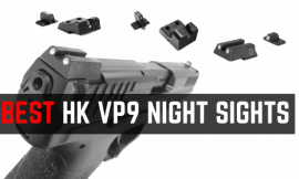 Best HK VP9 Night Sights Under $100 – High Quality Tritium Iron Sights