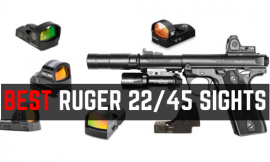 5 Best Optics For Ruger MARK IV 22/45 LITE – Red Dot Sights Comparison