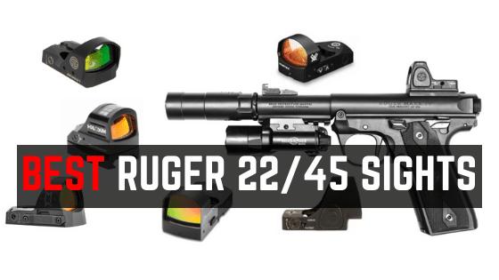 5 Best Optics For Ruger MARK IV 22/45 LITE