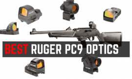 5 Best Optics For Ruger 9mm PC9 Carbine 2021